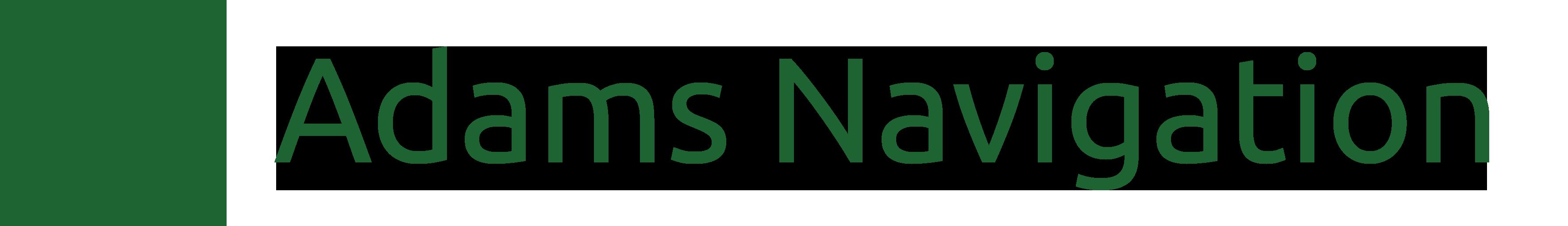 Adams Navigation